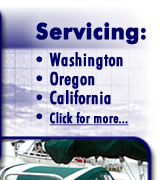 Servicing Washington Oregon California