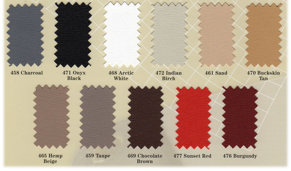 Chafe Guard Color Samples -- Iverson's Design